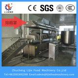 Automático contínuo das crostas de porco fritadeira/Máquina de fritura