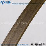 MDFの家具のための木製の穀物の端バンディングPVC