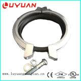 Hombro acoplamiento flexible con el hierro dúctil, ASTM A 536