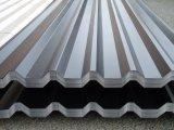 Strato d'acciaio del tetto di Galvalumed per uso della costruzione