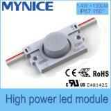 Modulo di prezzi all'ingrosso 2.8W LED con l'obiettivo per la doppia garanzia laterale della casella chiara 5years