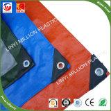 China plástico cor Azul Verde PE dos encerados
