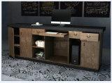 Prix bon marché Table comptoir de réception moderne comptoir de réception Front Office