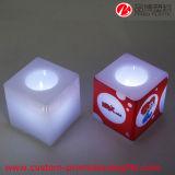 MiniBatterieleistung flammenlose Tealight Kerze des würfel-LED