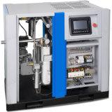 L'air refroidi par eau/huile exceptionnelle Oilless libre Moins d'air du compresseur à vis pour 50HP/380V