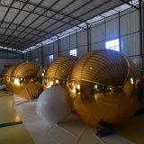 金魅力的なファッション・ショーPVC膨脹可能なミラーの球