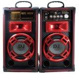 Altoparlante di Bluetooth di karaoke del USB DJ della casella dell'altoparlante della Manica del teatro domestico 2.0