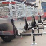 Rimorchio di legno del deposito dell'OEM ATV del ODM con il fornitore della rete fissa