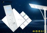 90W IP65 적외선 운동 측정기 태양 전지판 LED 가로등