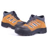 La parte inferior de acero respirable previene los zapatos de seguridad de la puntura