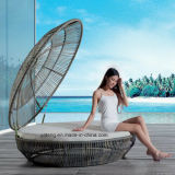 Rattan Canopy Bed Outdoor Furniture Chaise Daybed Beach Lounge