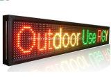 Single/WiFi tricolor LED programáveis Ecrã LED de Sinalização de Movimentação