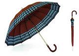 зонтик ручки 16k ручной с границей проверки (YS-SM26163419R)