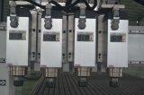 Aprovado pela CE de quatro etapas de trabalho em madeira MDF CNC Router