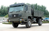 중국 336HP HOWO 4X4 모든 바퀴 드라이브 화물 트럭