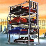 回転式駐車手段のガレージスタック駐車システム