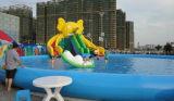 最もよいPVC昇進の膨脹可能な水公園の水は、膨脹可能なスライダの最もよいおもちゃに水をまく
