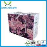 Bom preço saco de papel Kraft Papel Comercial personalizado com impressão de logotipo