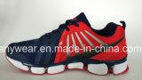 Pattini correnti di sport delle donne delle signore che pareggiano le scarpe da ginnastica delle scarpe da tennis (047)