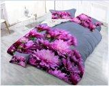 3D Impressão Floral Barato preço tecidos de poliéster Consolador Definido