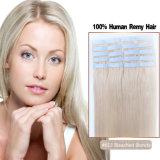 Tissage blond de cheveu de bande blanchi par #613