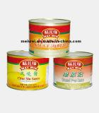 Best-seller costillas en salsa de botella de vidrio