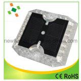 12pcs LED clignotant 360 Degré route solaire goujon en plastique