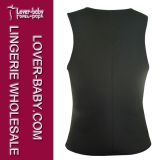Homens Waist Trainer Trimmer Gym Ultra Sweat Shaper Vest (L42660-4)