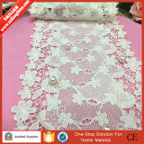 2016Tricot tailian полиэстера с цветочным орнаментом вязаные кружева ткань одежды