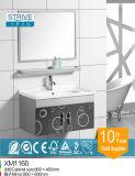 Vanità moderna della stanza da bagno dell'acciaio inossidabile del Governo del lato della stanza da bagno con i piedini