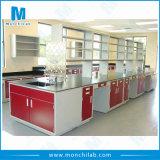 Korrosionsbeständiger Metallinsel-Laborprüftisch