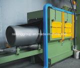 管の外壁のショットブラスト機械