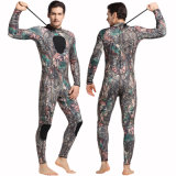 Terno surfando da Suit&One-Parte do mergulho do neopreno de Camouflalge 3mm para homens