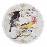Os pássaros projetam em volta da esteira do assoalho da esteira da praia para a venda por atacado