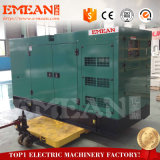 Быстрый генератор поставки 100kw тепловозный приведенный в действие Weifang Двигателем R6105azld