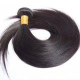 100% Евразийской прямой природного сырья Virgin волос человека