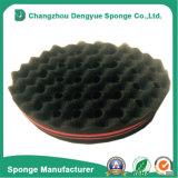 Esponja lateral dobro da torção da escova de cabelo dos furos da onda