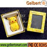 Новейшие 10000mAh портативный Покемон Перейти Pikachu Банка питания USB