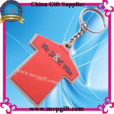 Suporte de chave de plástico para presente de anel de chaveiro de PVC