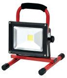 LED屋外のつくEpistar LEDの再充電可能な洪水ライト