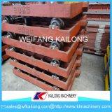Caixas de areia de alta qualidade de ferro cinzento Palete de ferro dúctil, Aluguer de Equipamento