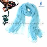 Polyester-bunter Schal für Dame Woman