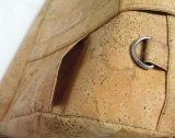 Sac respectueux de l'environnement de course de cuir de liège, sac de liège (dB02)