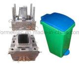 Moulage en plastique de poubelle de fabrication de modèle de moulage par injection de coffre d'ordures