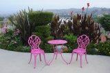 Présidence extérieure tous temps de Tableau de meubles de jardin de fonte d'aluminium de patio