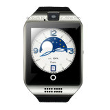 3G WiFi Bluetooth intelligente Uhr mit Puls-Monitor (Q18 plus)