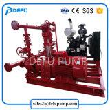 UL에 의하여 목록으로 만들어지는 1500gpm 화재 펌프 포장 엔진 - 몬 디젤 엔진 화재 싸움 나뉜 케이스 펌프