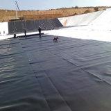 HDPE negro Geomembrane para la charca de pescados artificial