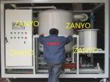 Alto vuoto del rimorchio mobile Zyd-200 che ricicla il purificatore di petrolio del trasformatore