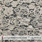 Tessuto del merletto del cotone del jacquard per i vestiti (M3482-G)